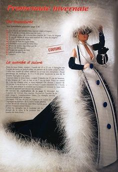 Mimin Dolls: French magazine dresses for Barbie