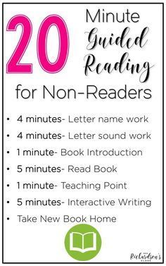 Guided Reading with Non-Readers {& a FREE Chart}