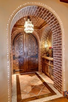 Handcrafted Spanish Door Design Ideas, Pictures, Remodel, and Decor - page 38