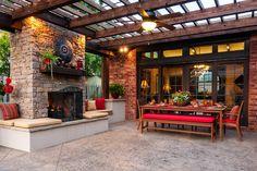 DRM Design Group-Landscape Design-Tulsa, Oklahoma | OUTDOOR LIVING AREAS