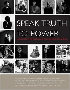 speak truth to power curriculum