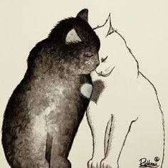 Sizi Hayal Dünyasına Davet Eden 25+ Fazla Kedi İllüstrasyonu: 'Raphael Vavasseur' Sanatlı Bi Blog 16