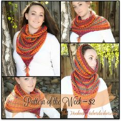 Pattern of the week ~ Wimple Hood Bandanna Cowl