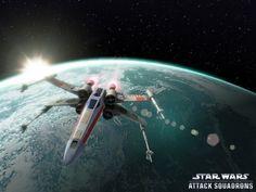Star Wars Wallpaper : X-Wings