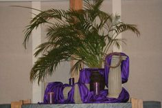 Palm Sunday altar 2011