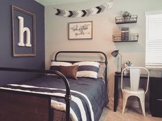 122 Likes, 24 Comments - Dream Nest Decor (Dream Nest Real Estate & Home Design). Cool Bedrooms For Boys, Big Boy Bedrooms, Boys Bedroom Decor, Room Ideas Bedroom, Little Boy Bedroom Ideas, Teen Boy Rooms, Boys Bedroom Ideas Tween, Boys Room Ideas, Preteen Boys Room