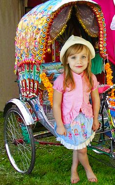 Cest si Bon! La Joie de Vivre: If I were a gypsy...  and a ilttle cart to hook to the bike...
