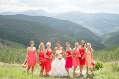 This wedding looks so beautiful and the people in it looked like they had a great time- what cheery bright colours!