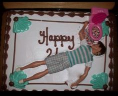 Best 21st birthday cake ever if someone made this for my 21st i d