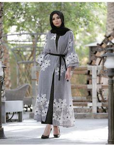 2019 Classy and Beautiful Hijab Outfits - Naija's Daily Arab Fashion, Islamic Fashion, Muslim Fashion, Girl Fashion, Fashion Outfits, Modest Fashion Hijab, Modesty Fashion, Fashion Muslimah, Hijab Style