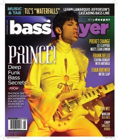 Bass Player magazine tribute to Prince Claypool Lennon, Les Claypool, Guitar Tips, Guitar Lessons, Prince Concert, Sean Lennon, Music Tabs, The Artist Prince, Prince Purple Rain