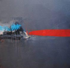 "Saatchi Art Artist ian palmer; Painting, ""Composition No. 4 (Blue Forest)"" #art"