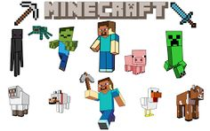 Krafty Nook: Minecraft SVG Files