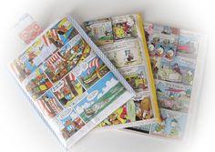 DIY - iPad-fodraler... Serietidningar - så klart:)