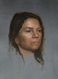 Gregory Mortenson (alla prima painting)