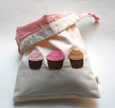 Cupcakes Drawstring Bag by stephaniemonroe