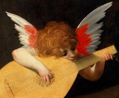 Global Gallery 'Angel with Lute' by Rosso Fiorentino Painting Print on Wrapped Canvas Google Art Project, Galerie Des Offices, Renaissance Kunst, La Madone, Painting Prints, Art Prints, Music Painting, Pierre Auguste Renoir, Art History