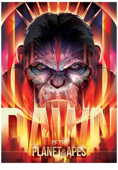 Dawn of the Planet of the Apes by Orlando Arocena