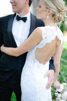 25 keyhole wedding dress ideas for a subtle & sexy bridal look - Wedding Party