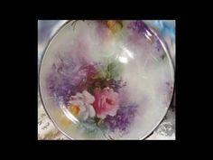 Tutorial: Decoupage su piatto di vetro con cracklè country [eng-sub] - YouTube