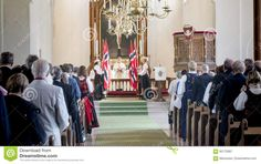 Celebration Of The National Holiday In The Protestant Church - Download From Over 59 Million High Quality Stock Photos, Images, Vectors. Sign up for FREE today. Image: 92170087