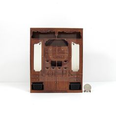 "Miniature 1:12 Scale The ""Adalicia Store"" Main Cabinet [WN]"