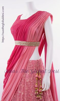 LEHENGA ONLINE USA Give yourself a versatile look by wearing this georgette lehenga choli featuring lucknowi work lehenga and hand work blouse Fancy Dress Design, Stylish Dress Designs, Designs For Dresses, Indian Gowns Dresses, Indian Fashion Dresses, Indian Designer Outfits, Indian Bridal Outfits, Indian Bridal Fashion, Stylish Dresses For Girls