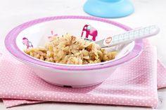 Een recept waarmee je echt al-tijd scoort. Want met eenvoudige ingrediënten zoals prei, kippenworst en parmezaan pak je je tafelgasten helemaal in. Baby aan tafel? Gezellig! Dankzij onze handige tips kook je gewoon meteen voor je kleine spruit mee.
