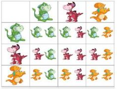 Tableaux à double entrées Toddler Preschool, Toddler Activities, Visual Perception Activities, Esl Learning, Brain Teasers For Kids, Math Subtraction, Blends And Digraphs, Folder Games, File Folder
