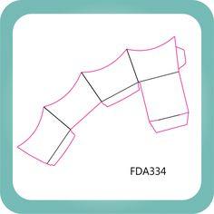 Faca Corte e Vinco FDA334 - Caixeta Prática 3
