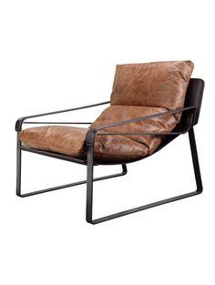 Chathan Club Chair, Brown