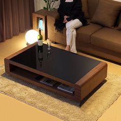 33 Awesome Wooden Furniture Design Ideas For Living Rooms Centre Table Design, Tea Table Design, Table Furniture, Living Room Furniture, Furniture Design, Wooden Furniture, Living Rooms, Wooden Coffee Table Designs, Diy Coffee Table