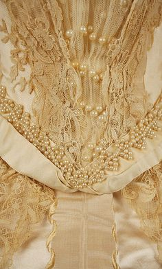 1890s Wedding Dress