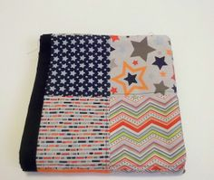 Modern Baby Quilt Modern Patchwork Baby Quilt by TakeTwoBabyQuilts, $60.00