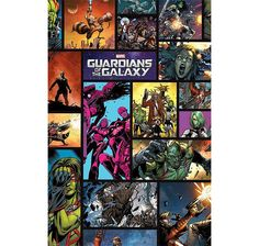 GUARDIANS OF THE GALAXY POSTER COMIC Hier bei www.closeup.de