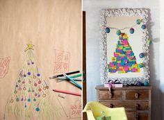 árvores-de-natal-de-papel (Foto: Iara Venanzi/Editora Globo)