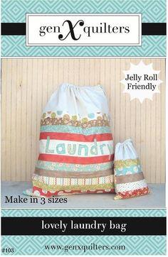 Lovely Laundry Bag pattern on Craftsy.com