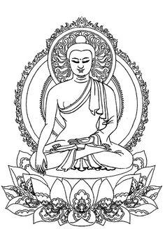 Buddha outline that I love