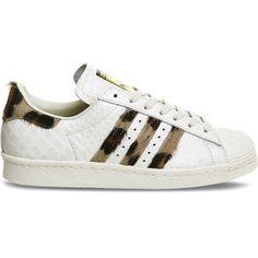 acheter populaire 9c38e 7ae17 Adidas Superstar Leopard Blanche ChaussureAdidasonlineoutlet.fr