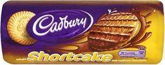 Irish Cookies, Cadbury Milk Chocolate, Shortcake Biscuits, Chocolate Topping, Biscuit Cookies, Irish Recipes, Quick Snacks, Sweets, Tea