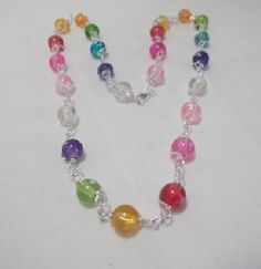Cute for little girls!  I Want Candy Necklace