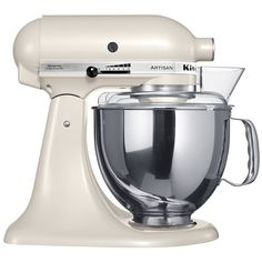 Pearl white kitchen aid - now that is a perfect look.  Wish I could exchange my 1980's forest green for this one.