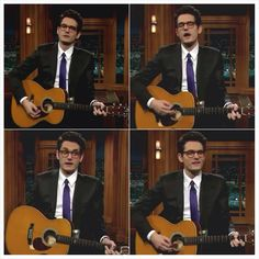 John Mayer on the Late Late Show