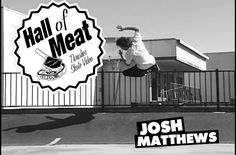 This is pretty much everyone's worst fear when it comes to 50-50ing a flat rail. Unfortunately for Josh, the bar was taller than most and it took a bit longer to fall back down to earth. Thud!