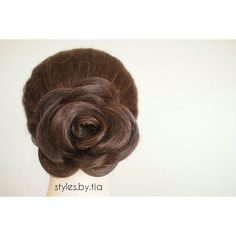 Flower updo.  Instagram@styles.by.tia All Things Beauty, Updos, Flowers, Instagram, Style, Fashion, Up Dos, Swag, Moda