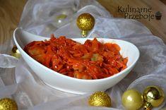 sledzie-w-sosie-salsa Salsa, Wok, Shrimp, Meat, Woks, Salsa Music