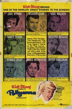 Pollyanna Hayley Mills, Jane Wyman, Karl Malden1960