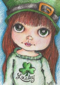 Pop Art Minis: Happy St. Patrick's Day...Luck, Laughter and Lepre...  @Pop Art Minis