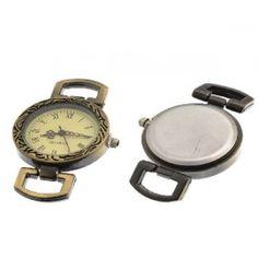 Ρολόι Μπρονζε Color με Μηχανισμό Quartz -49x30mm  -1τεμ