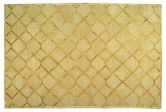 6' x 9' Tania Rug, Citrine/Gold